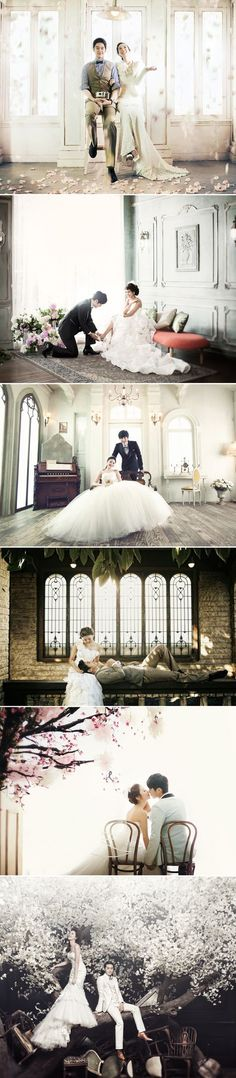 A modern wedding fit for young couples ❤ korean inspired wedding photography's