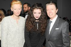 David Bowie, Karl Lagerfeld, Anna Wintour and singer Lorde all joined Tilda Swinton as she celebrated her birthday at the Museum of Modern Art 2013 Film benefit - A Tribute To Tilda Swinton in New York….