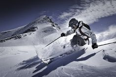 ski et télémark