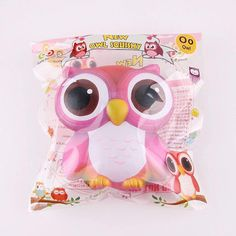 Sanqi Elan Jumbo Owl ~ Red Galaxy  • Open PO for wholesale • Retail coming SOON