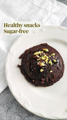 Sugar Free Recipes, Keto Recipes, Healthy Recipes, Healthy Cookies, Healthy Snacks, Vegan Desserts, Dessert Recipes, Chocolate Orange, Sweet Breakfast