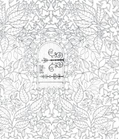 Secret Garden By Johanna Basford Book PagesSecret GardensColoring