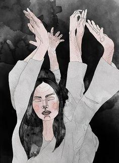 beginning by Adel Keruser #illustration