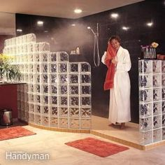 How to Install a Glass Block Shower