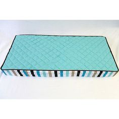 Bacati Mod Diamonds and Stripes Changing Pad Cover $27.99