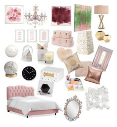 """""""Dream room"""" by angela-reyes-2 on Polyvore featuring interior, interiors, interior design, home, home decor, interior decorating, Catalina, Lala + Bash, Parlane and Kate Spade"""