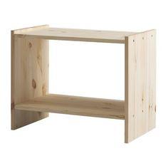 IKEA - RAST, Stolik nocny, , Produkt wykonany z litego drewna - wytrzymałego, ciepłego, naturalnego materiału.Jeśli pokryjesz niewykończone lite drewno warstwą oleju, wosku, lakieru lub bejcy, będzie trwalsze i łatwiejsze w pielęgnacji.