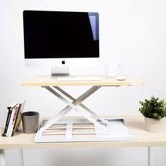 X-ELITE Pro Standing Desk Converter - Black, Cherry, Maple, and White #standingdesk #standingdeskconverter #standupdesk #instantstandingdesk #xelite #standsteady #standupdesk #cutestandingdesk #standingdeskforhome #homeoffice #ergonomicstandingdesk