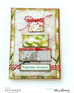 kartka wg mapki Craft Shop, Decorative Boxes, Create, Holiday Decor, Home Decor, Decoration Home, Room Decor, Home Interior Design, Decorative Storage Boxes