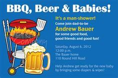 diapers and beer party, men's baby shower. I need to keep this in mind for later on down the road whenever I start my family