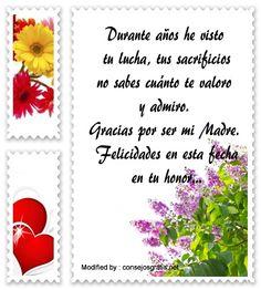 descargar mensajes bonitos para el dia de la Madre,mensajes de texto para el dia de la Madre: http://www.consejosgratis.net/congratulaciones-por-el-dia-de-la-madre/