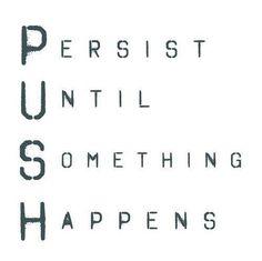 Push it real good...