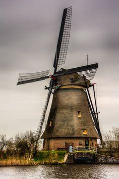 Windmill from Kinderdijk 2 by Wim Van de Water on 500px