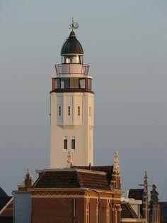 Harlingen lighthouse Netherlands