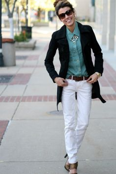 the flare denim jean trend street style | ... Mankind Jeans ...