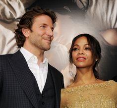 Bradley Cooper and Zoe Saldana | 16 Celebrity Couples We Lost In 2013