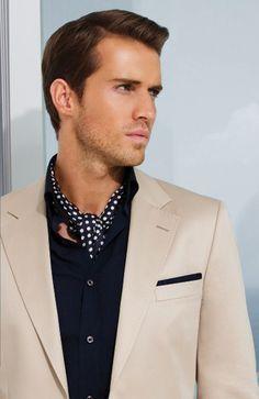 comment nouer foulard homme Nouer Foulard Homme, Accessoire Homme, Cravate,  Look Homme, 415ceac1ae3