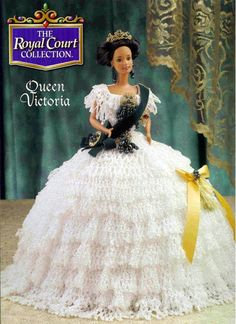 Barbie Crochet: 1999 Royal Court Collection, A lot of patterns from Annie's to copy or download