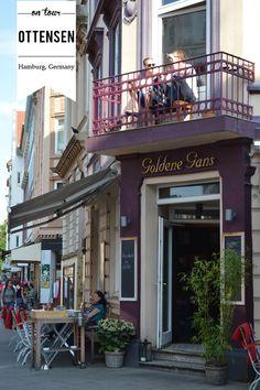 Schon die Fassade eines Restaurants ist Einladung und #Restaurantmarketing zugleich! ON TOUR :: OTTENSEN, HAMBURG | Fluxi On Tour