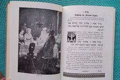 Antique UNION HAGGADAH 1923 Home Service PASSOVER Book JUDAICA Hebrew 1st Ed HC