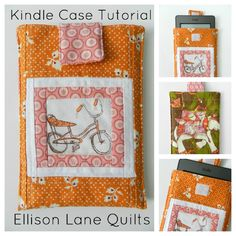Ellison Lane Quilts: Quick and Easy Kindle Case Tutorial