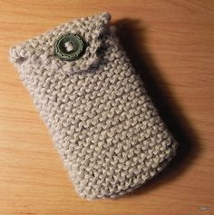 Ravelry: Easy Peasy Cell Phone Cozy pattern by Geri Inglis