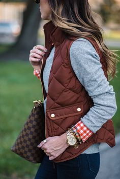 Sequins and Things: FALL OUTFIT WITH RUSTIC COLORS