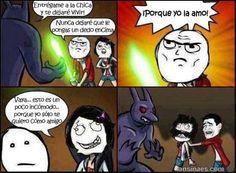 Memes en español - Entrégame a la chica y te dejare vivir...