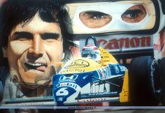 Nelson Piquet é bicampeão mundial de Fórmula-1