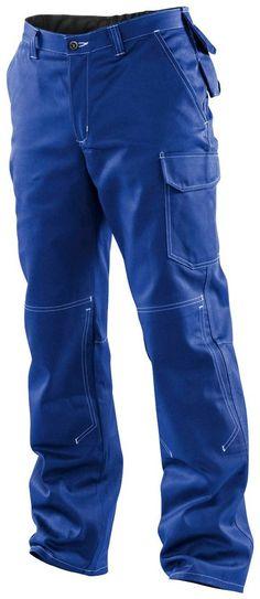 KÜBLER Arbeitshose »ORGANIQ« ab 44,99€. Belastungspunkte mit Riegeln gesichert, Knieschutztaschen innenliegend bei OTTO