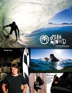 Greg Long is Ocean Minded.