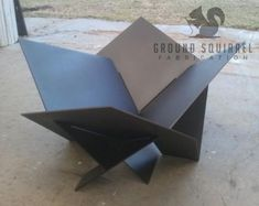 Modern Steel Fire Pit Industrial Metal Atomic von LethalFabrication The Effective Pictures We Offer You About firepit A quality picture can tell you many things. Industrial Fire Pits, Metal Industrial, Industrial Design Furniture, Industrial Interiors, Metal Furniture, Furniture Projects, Metal Fire Pit, Wood Burning Fire Pit, Diy Fire Pit