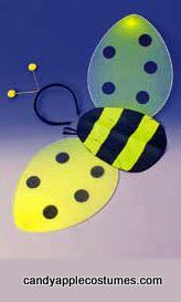 Child's Bee Wings and Headband Kit - Candy Apple Costumes - Infant/Toddler Costumes