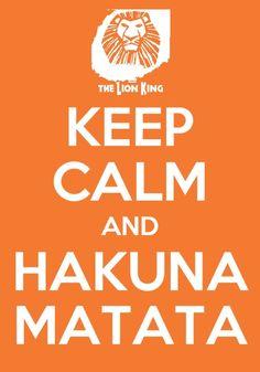 The Lion King, Hakuna Matata