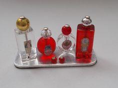 1/12th Scale...Dolls House...Handmade...Perfume Tray.