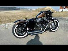 Harley Davidson Sportster Bobber 48 www.mr-bobber-custom.com