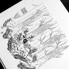 Inktober Day 16 (hommage à Frida Kahlo) #drawing #inktober2018 #inktober #fridakahlo #illustration #inktober #ink #artwork #fanart #dorothygranjo Inktober, Illustration, Fan Art, Artwork, Instagram, Day, Drawings, Frida Kahlo, Work Of Art