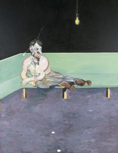 Francis Bacon Study for Portrait of Lucian Freud 1964.