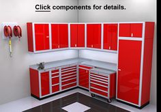 Garage Storage Cabinets | Metal Cabinets | ModulineCabinets.com