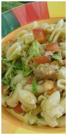 Gnocchetti freddi con zucchine e tonno! #gnocchetti #zucchine #tonno #ricettegustose