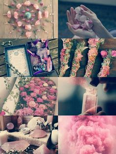 """Pink Witch aesthetic "" - Another! Witch Aesthetic, Aesthetic Collage, Pink Aesthetic, Magick, Witchcraft, Foto Fantasy, Modern Witch, Book Of Shadows, Pagan"