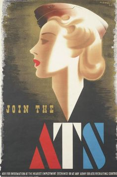 Join the ATS. Great Britain, 1941.