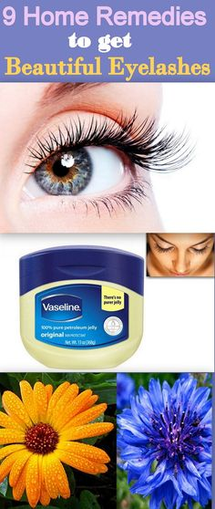9 Effective home remedies to get beautiful and dense eyelashes ! Get lovely eyelashes following these natural ways!