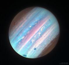 Stunning NASA image reveals Jupiter's beauty in ultraviolet and infrared light