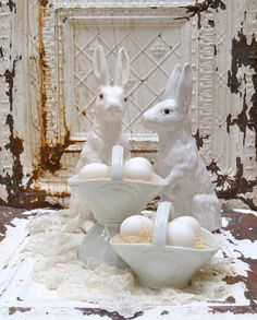 Vintage Shabby Chic Easter.....