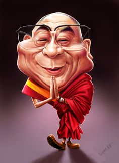 Mama may look up to the Dalai Lama because he was a religious leader and she was very religious. He promotes peace and togetherness, much like how Mama values family