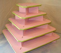 Base cupcake en cuadrado