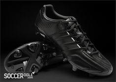 adidas adipure 11Pro Football Boots - Black/Black/White - Football Boots