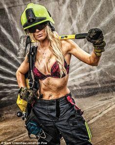 Female Firefighter, Volunteer Firefighter, Hot Firefighters, Firemen, Female Fighter, Military Women, Girls Uniforms, Poses, Sensual