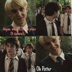 Oh Potter #drarry
